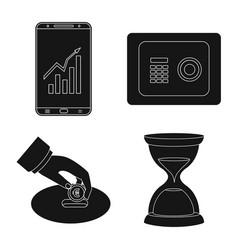 bank and money logo vector image