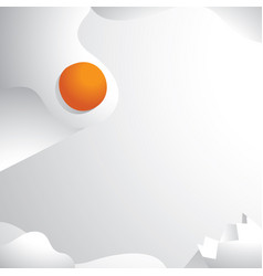 Duck egg crack with slipping duck yolk background vector
