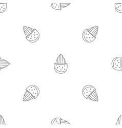 half shell almond pattern seamless vector image