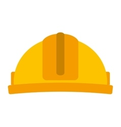helmet construction isolated icon design vector image