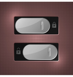 lock unlock switch vector image