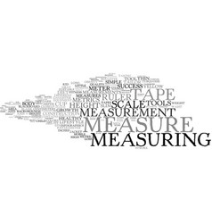 Measure word cloud concept vector