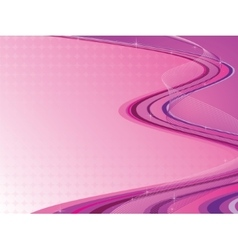 pink abstract composition vector image