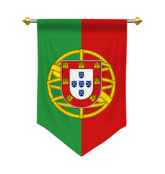 Portugal pennant vector