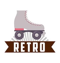Retro icon vector