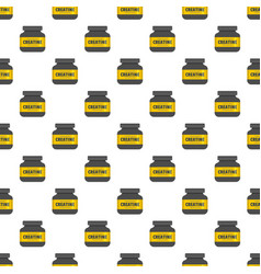sport protein pattern seamless vector image