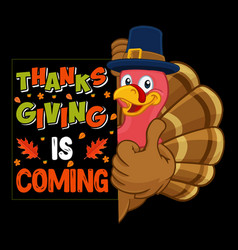 Thanksgiving is coming vector