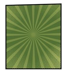 cartoon bang-8 vector image vector image