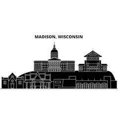 usa colorado aurora city architecture vector image