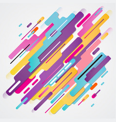 Abstraction modern style composition made of vector
