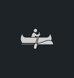 Boat icon simple vector