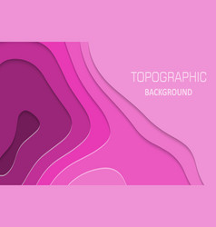 geometric paper cut background vector image