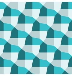 Geometric pentagonal pattern vector image