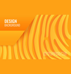 Orange paper line - abstract texture simple vector