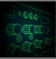 professional diagnostic and repair equipment vector image