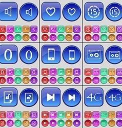 Sound Heart Countdown Zero Smartphone Cassette vector
