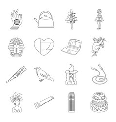 Sports building medicine and other web icon in vector