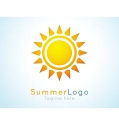 Summer logo label Summer icon vector