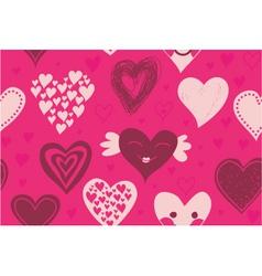 valentines invitation vector image vector image