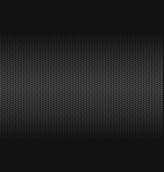 Abstract dark grey carbon background metallic vector