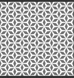 abstract seamless pattern stylized flower pattern vector image