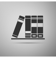 Books icons icon vector image