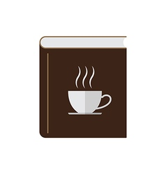 Coffee book vector image