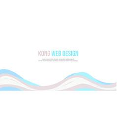 Header website abstract elegant design vector