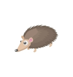 Hedgehog icon cartoon style vector