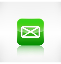 Letter icon Email message Sms vector image