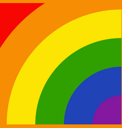 lgbtq rainbow colorful pattern vector image