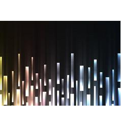 Metallic overlap pixel speed abstract background vector