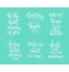 Photography family positive quotes overlay set vector image