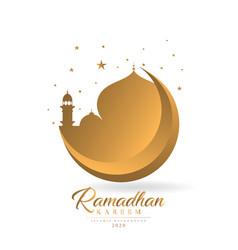 Ramadhan kareem theme 2020 vector