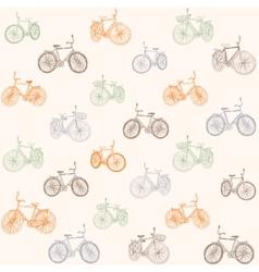 bike seamless vector image