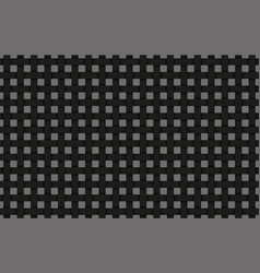 Black weave abstract background vector
