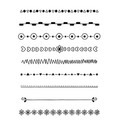 0017 hand drawn dividers vector