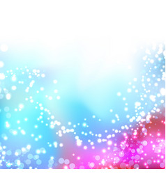 Bright colorful shimmering seasonal background vector