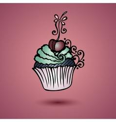 Decorative Ornate Cake vector