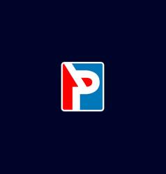 pb logo vector image