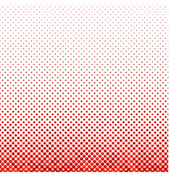 red repeating abstract dot pattern background vector image