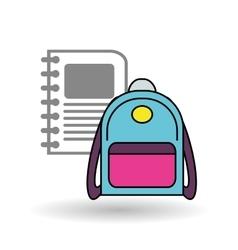 School bag design vector