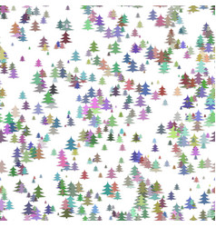 Seamless abstract random christmas background vector