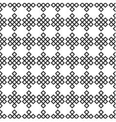 Seamless pattern endless knots palbeu vector