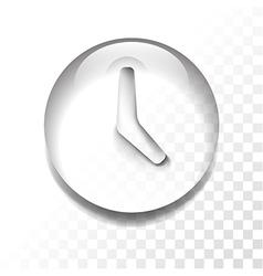 transparent time vector image