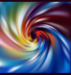 Vibrant gradient abstract swirl background vector