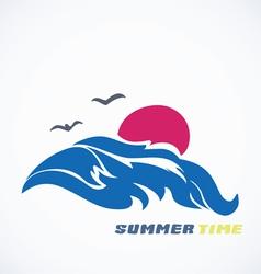 Sea icon vector image