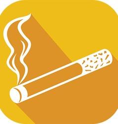 Cigarette Icon vector image vector image