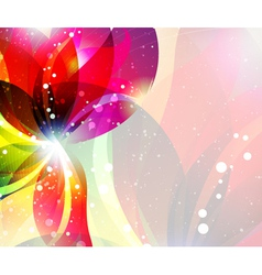 Abstract flower backgrouns vector