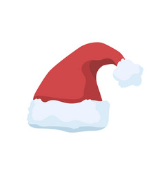 christmas hat festive santa vector image